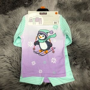 Kirkland | Girl's 4 Piece PJ Set | Penguin